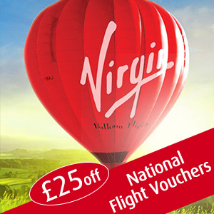 discount code for Virgin Balloon Flights