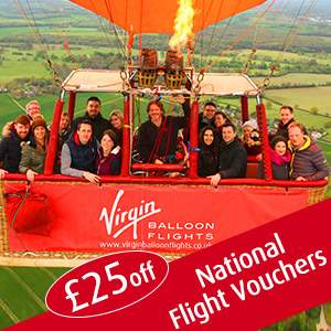 offer codes for Virgin Balloon Flights