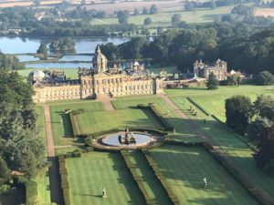 Castle Howard Hot air Balloon