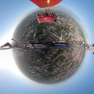 Bristol hot air balloon ride